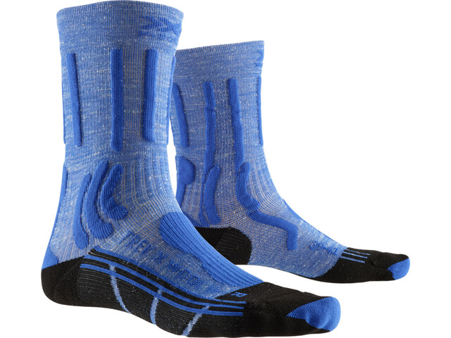 X-Socks Trek X Linen Socks Damen lake blue/opal black